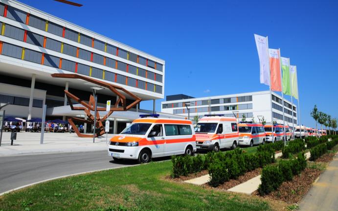 Sicherheitssystem für Krankenhaus-Neubau in Villingen-Schwenningen ...