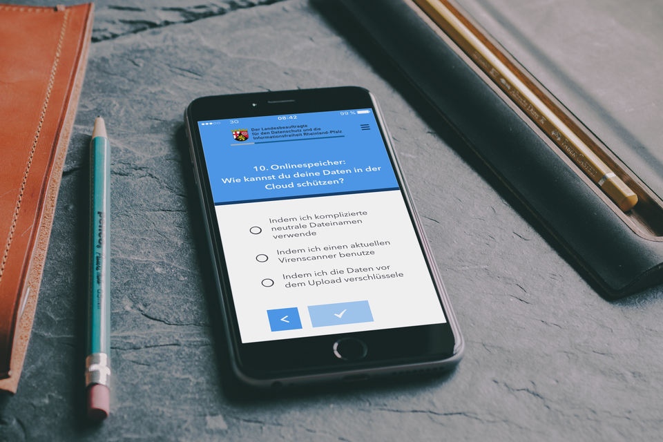 app der hochschule kaiserslautern schult nutzer beim thema datensicherheit telematik markt. Black Bedroom Furniture Sets. Home Design Ideas