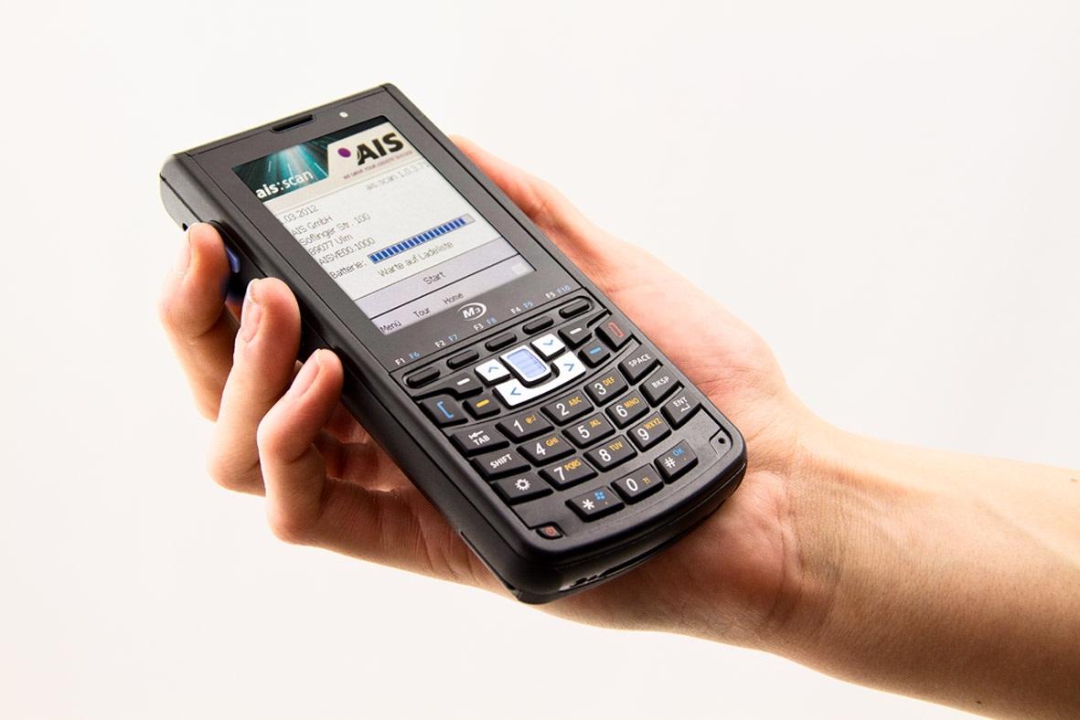 ais pr sentiert den mobilen scanner m3 smart telematik markt. Black Bedroom Furniture Sets. Home Design Ideas