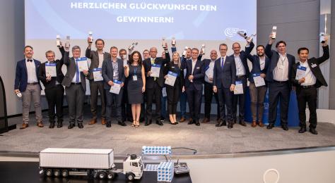 Telematik Award 2018: Wertvolle Pokale gingen an 13 glückliche Gewinner