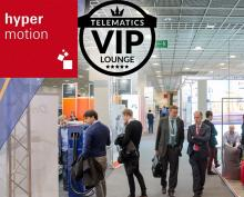 Hypermotion 2018 mit Telematics VIP-Lounge: Am Puls der Digitalisierung