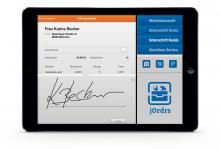 mobile auftragsverwaltung f r kmus und handwerksbetriebe durch ipad app jordrs telematik markt. Black Bedroom Furniture Sets. Home Design Ideas