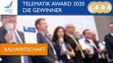 #TelematikAward2020: Gewinner der Kategorie #Bauwirtschaft